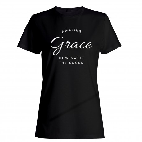 "Tričko ""Amazing Grace"" dámske"