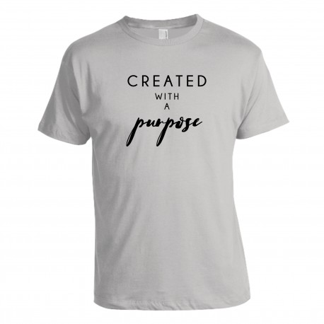 "Tričko ""Create With Purpose"" pánske"