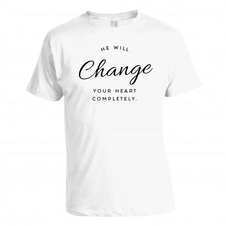"Tričko ""He Will Change"" pánske"