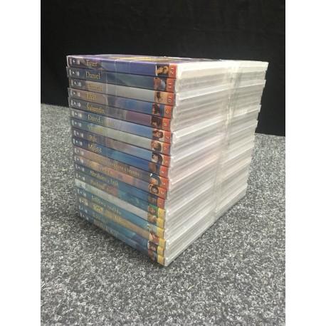 SÉRIA 36 x DVD animovaných biblických príbehov