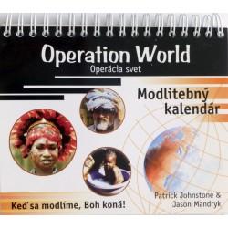 Modlitebný kalendár - Operácia svet