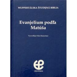 Wuppertálska študijná Biblia - Ev. Matúša