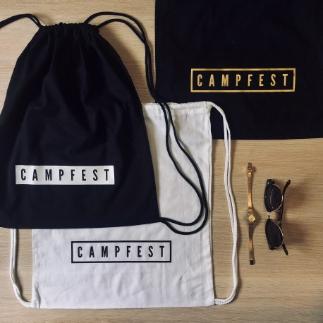 "NOVINKA! ""Campfest"" vrecko + náramok ZADARMO"
