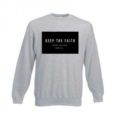 MIKINA Keep the faith